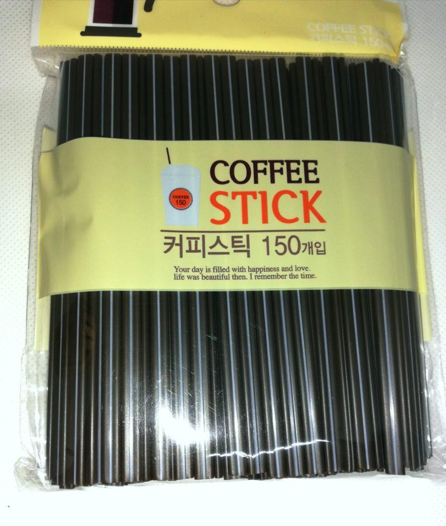 ホットストロー、韓国ストロー、コーヒーストロー